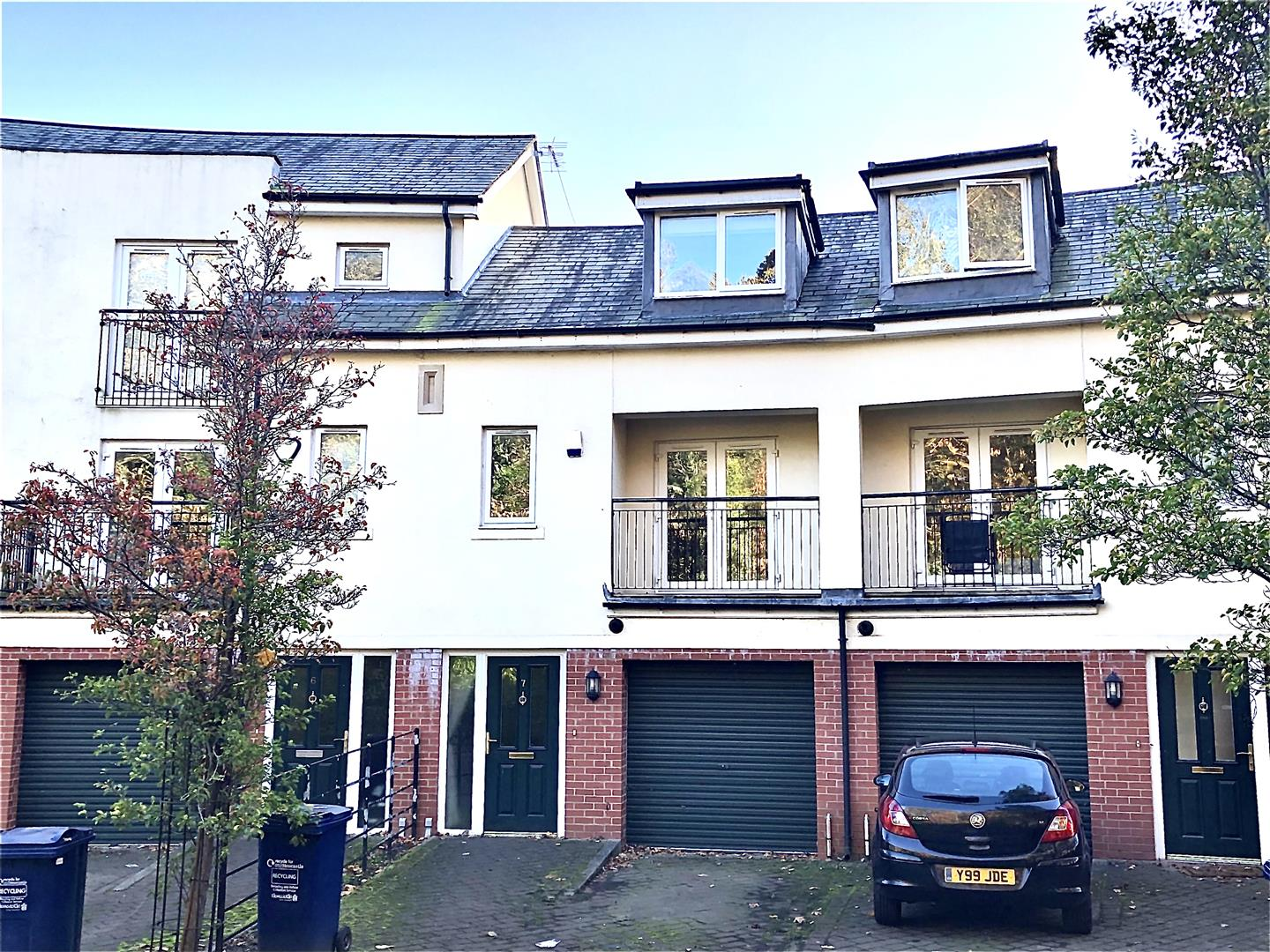 St. Catherine's Court Newcastle Upon Tyne, 3 Bedrooms  House - townhouse ,For Sale